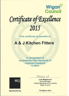 Award winning Kitchen Fitters Manchester