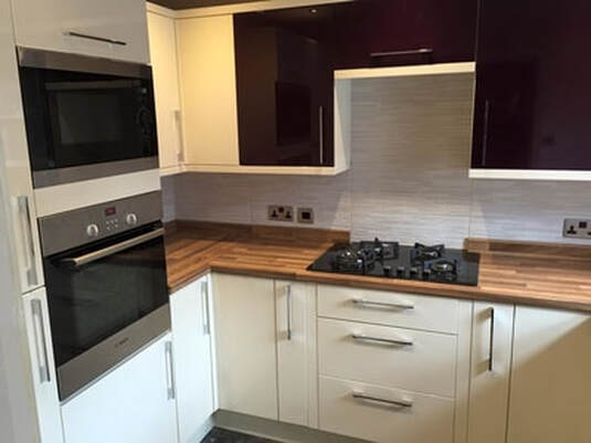 kitchen makeover in Bolton by AJ Kitchens
